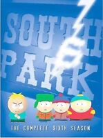 South Park - The Complete Sixth Season (DVD, 2005, 3-Disc Set)