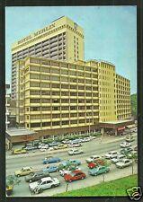 Kuala Lumpur Hotel Merlin Cars Malaysia 2 stamps 70s