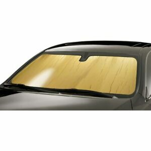 Intro-Tech Gold Custom Car Sunshade Windshield for Bmw 2007-2013 X5 - BM-35-G