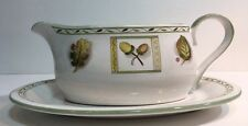 Studio Nova Gravy Boat & Underplate Country Song Pattern Oven To Table- JK040