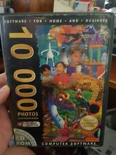 10,000 Photos and Raytraced Images - PC CD ROM  - FREE POST