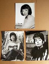 HANNE WIEDER * 3 PRESSEFOTOS diverse Grössen PHOTOS LOT VINTAGE 1960er RAR