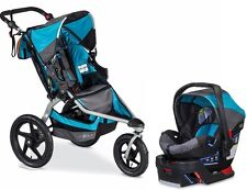 BOB 2016 Revolution Pro Stroller Travel System Lagoon + B-Safe 35 Car Seat!!