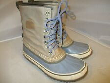 SOREL 1964 Premium CVS Snow Waterproof Canvas Winter Boots Women's Size 7