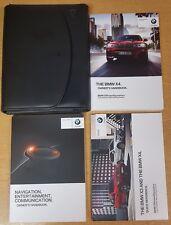 GENUINE BMW X4 F26 HANDBOOK NAVIGATION OWNERS MANUAL 2014-2017 PACK E-442