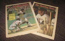 1972 / 1973 Speier & Kingman The Sporting News Magazines - Giants No Label