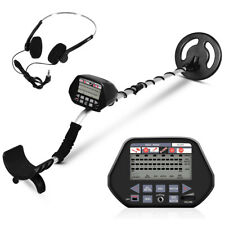 "Waterproof Metal Detector Underground Search Gold Digger Hunter 8"" w/ Headphone"