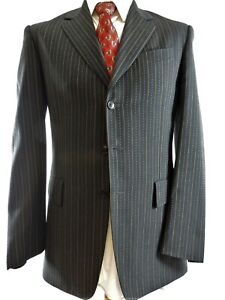 Paul Smith Suit Wool & Cashmere Mainline UK 38 EU 48 Regular Fit