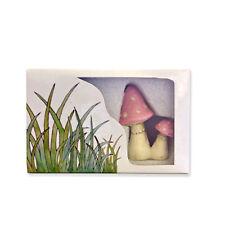 NEW 'lil Fairy Pink Mushroom Set Handmade Pretend Play Authorized Seller