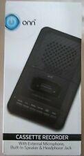 Onn Cassette Recorder Brand New In The Box