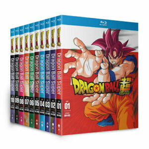 DRAGON BALL SUPER: The Complete Series Seasons 1-10 Blu-ray Brand New & Sealed