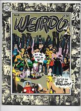 Weirdo #6 (1982 Last Gasp Eco Funnies) R Crumb Dog Austin Friedman Dog FN+