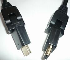 High Speed HDMI Cable with Ethernet 4 11/12ft Rotatable Plug Horizontal &