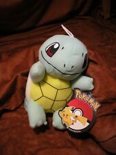 "Toy Factory 6"" Squirtle Plush Pokemon - New with Official Tags"