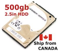 "500gb 2.5"" SATA Laptop hard disk drive ~ mixed brand ~ TESTED 100% health HDD"