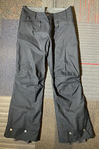 WOMEN'S COLUMBIA BLACK SKI PANTS SIZE SMALL Stand Up Snow Insulated