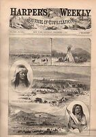 1877 Harpers Weekly December 8-Nova Scotia; Penny restaurant; Color line is dead