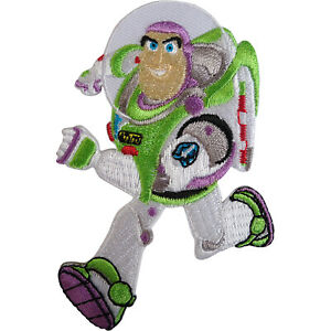Disney Toy Story Buzz Lightyear Patch Embroidered Badge Iron Sew On Clothes Bag