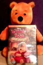 Winnie The Pooh Peluche de Juguete y Navidad Dvd