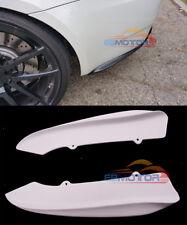 UNPAINTED Rear Side Splitter Spoiler 1pair for BMW E92 E93 2D M3 08-13 b438bF