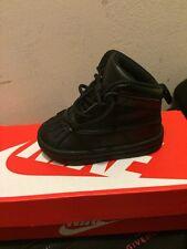 NIKE WOODSIDE 2 HIGH (TD) Toddler boots Black / Black 5c child/kids/ ACG