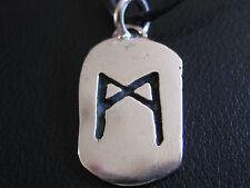 Runenplakette aus Silber 925 er verschiedene Runen / KA 260 / x
