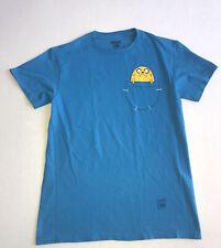 Adventure Time - Small - Blue - Graphic Tshirt
