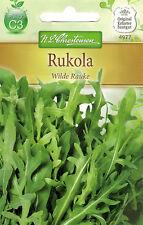 4977 Rukola 'Wilde Rauke' kräftiger Geschmack mehrjährig kurze Kulturzeit Samen