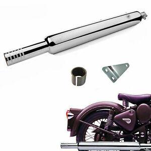 Royal Enfield Bullet Electra Standard Classic 350 500 cc Hollow Long Silencer