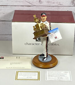 DALE EARNHARDT SEVEN TIME WINNER TROPHY STATUE BY CHARACTER COLLECTIBLES #8/0680