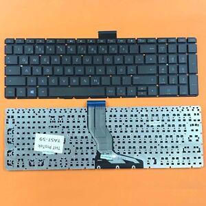 DE - Schwarz Tastatur Keyboard ohne Beleuchtung, Rahmen für HP 250 G6