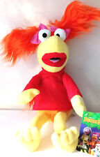 Large Fraggle Rock Muppets Red Jim Henson 17'' Plush Stuffed Toy .Licensed. NWT