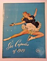 ICE CAPADES of 1949 Program Walt Disney's Snow White ORIGINAL PROGRAM BOOK