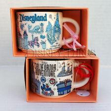 Disneyland Disney California Adventure Starbucks Been There Mug Ornament Set 2oz
