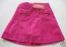 Gymboree NWT WILD ONE Pink Velveteen Velvet Bow Pocket Skort Skirt 4 4T