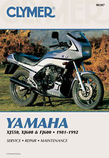 Clymer Repair Service Shop Manual Vintage Yamaha XJ550 81,82,83 FJ600 84,85