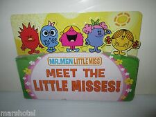 MEET THE LITTLE MISS ROGER HARGREAVES CHILDRENS BOOK CHARACTER DIECUT BOARD BOOK