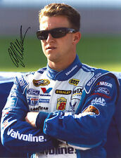 A.J ALLMENDINGER signed NASCAR 11X14 photo with COA A