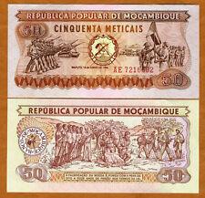 Mozambique, 50 meticais, 1980, P-125, UNC