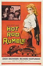 "Hot Rod Rumble Movie Poster Replica 13x19"" Photo Print"