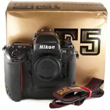 Nikon F5 Body with DP-30 Prism + Strap / Professional or Students 35mm Film SLR