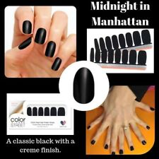 Color Street Midnight in Manhattan 100% nail polish strips