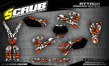 SCRUB  KTM SX SXf 125 250 450 525 2003-2004 '03 - '04 Grafik Sticker Dekor-Set