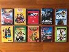 assortimento cd film genere bambini e per tutta la famiglia