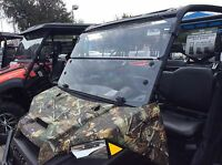 POLARIS RANGER XP 1000,1000 CREW1/4POLYCARBONATE FOLD DOWN WINDSHIELD 2016-2020