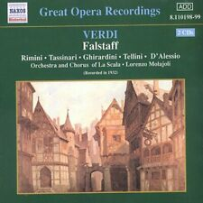 G. Verdi - Falstaff-Comp Opera [New CD]