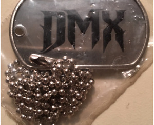 New, Factory Sealed DMX / Earl Simmons Vintage METAL DOG TAG ~ VERY RARE
