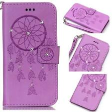 Dreamcatcher Flip Stand PU Leather Wallet Card Cover Case For Apple Smartphones