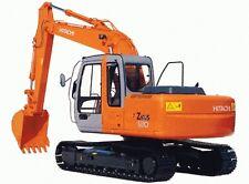 Hitachi zx110 a zx135ur Taller Manual De Servicio ** Free UK Post **