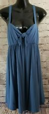 Copper Key Casual Denim Blue Womens Juniors Dress Sz Large